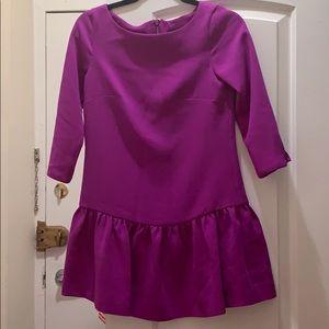 Eggplant color JCrew dress!